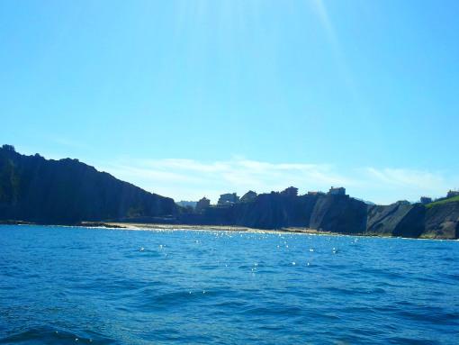 La playa de Itzurun.