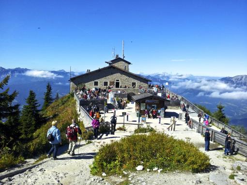 """Kehlsteinhaus (el """"Nido del Águila""""): el chalet de montaña de Hitler."""