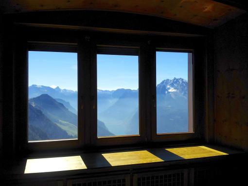 Vista de Los Alpes.