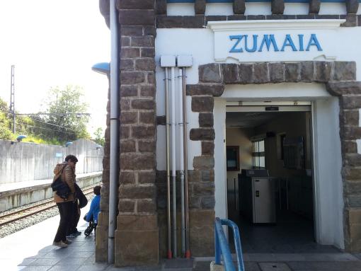Estación de Zumaia.